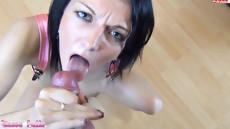 Минет от первого лица и горячий секс с красоткой Nasse Laila